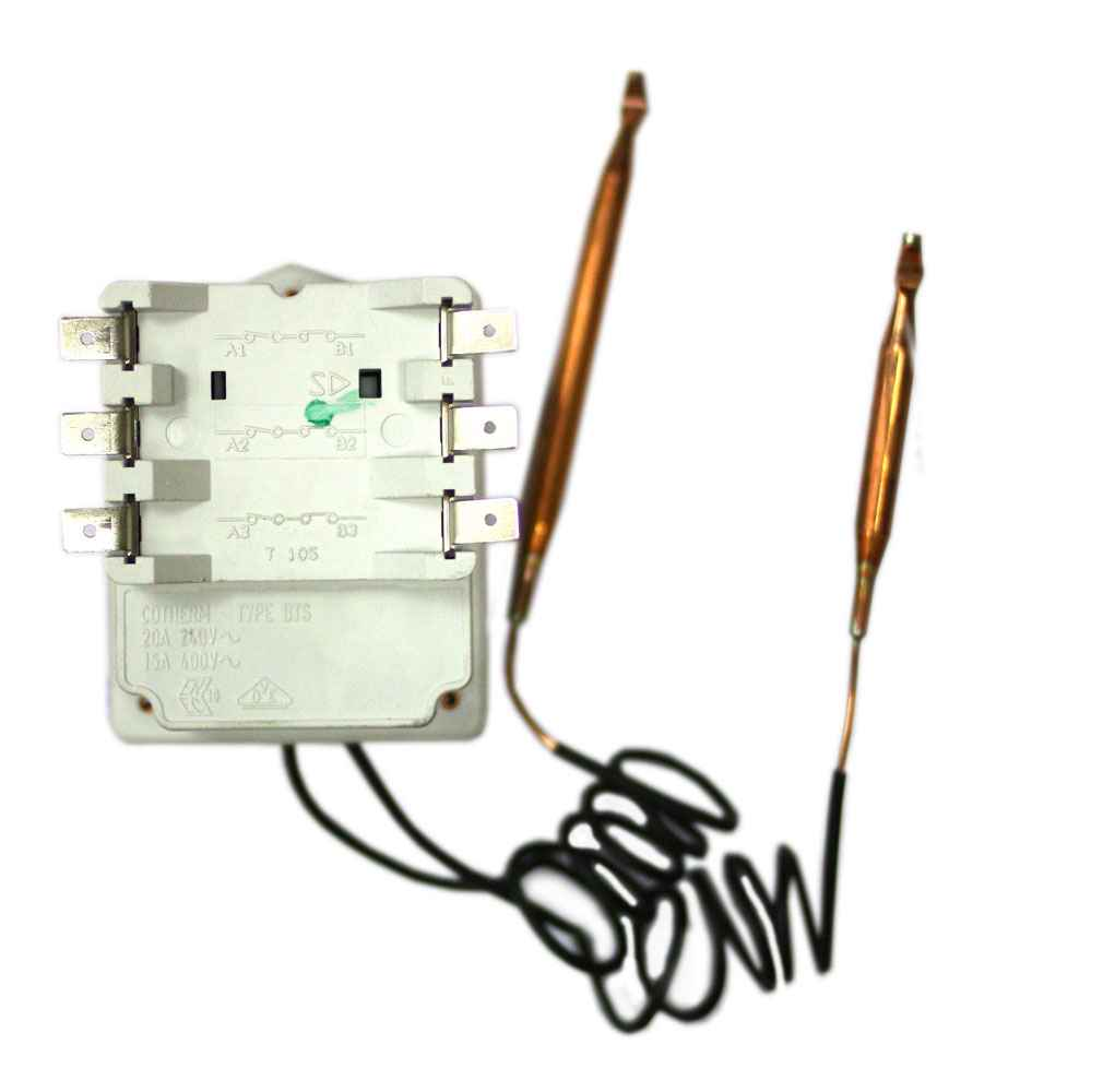 Трехфазный термостат для ТЭНов для котлов